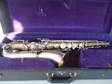 1925 BUESCHER TRUE TONE Vintage/Antik Tenorsaxophon-restauriert & abspielbar!