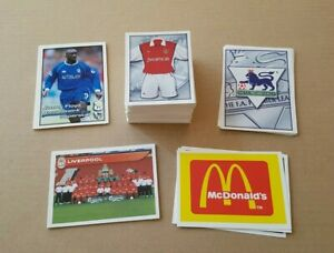 Merlin Premier League 2001 Stickers  - Numbers 1 to 249 - Excellent