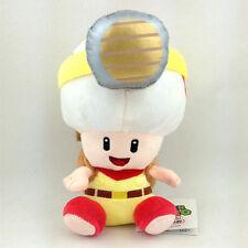 """Captain Toad Super Mario Bros Brigade Leader Plush Soft Toy Stuffed Animal 7"""""""