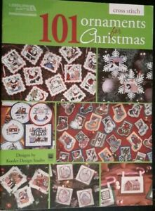 101 Ornaments For Christmas Cross Stitch Pattern Book Kooler Design HOLIDAY