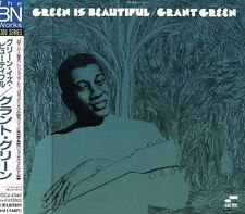 SEALED Grant Green CD - Green Is Beautiful - Japan, 2000 w/ OBI Blue Note, RVG