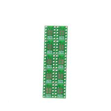 10PCS SOT23 SOP10 MSOP10 Umax SOP23 to DIP10 Pinboard PCB Board Convert   OZ