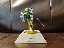 Legend of Zelda PDP Amiibo stand w/ master sword stylus / link smash bros amiibo