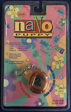 VINTAGE Nano Pet Puppy NIB NEW Sealed RARE 1997 Playmates Electronic Pet