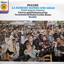 Puccini La Boheme Scenes & Arias Tebaldi Bergonzi NEAR MINT Decca Jubilee JB 11