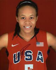 Seimone Augustus Signed 8x10 Lot of (2) Auto Autograph Olympic Gold WNBA Legend