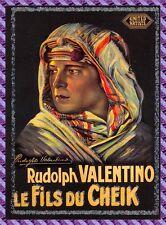 Carte collection Affiche de Film LE FILS DU CHEIK - N° 1