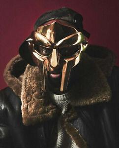 Medieval MF Doom Gladiator Helmet Face Mask Villain Halloween Xmas Gift