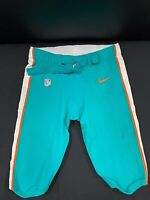 #92 MIAMI DOLPHINS NIKE GAME USED AQUA CURRENT STYLE PANTS 2019/2020 SEASON