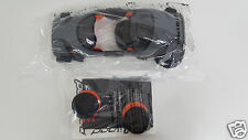 New Pod Youth Knee Brace Motorcycle Off Road Left Gray/Orange Medium 664-0411YM