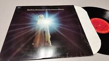 BARBRA STREISAND - A CHRISTMAS ALBUM - PC 9557, CHRISTMAS VINYL RECORD