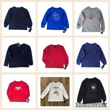 Ralph Lauren Long Sleeve 100% Cotton T-Shirts, Tops & Shirts (2-16 Years) for Boys