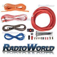 Vibe 4 AWG Amplifier AMP Full Wiring Kit 2000W True Gauge 100a