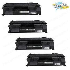 4PK CE505A / 05A Toner Cartridge for HP LaserJet  P2035 P2035n P2055 P2055d
