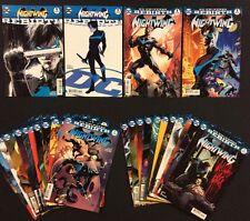 NIGHTWING #1 - 21 Comic Books DC REBIRTH #1 1st Prints NM Variants B Covers 2016