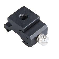 Camera Flash Hot Shoe Mount Adapter+1/4inch Female Thread/Screw Hole 4x2x1.7cm