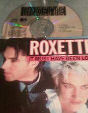 Roxette it must have been love. 3Tr rare von 1989 mcd