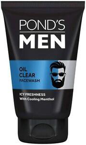 Ponds Men Oil Clear Face Wash 100 gm count 1
