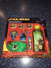 Vintage Star Wars Collectibles Bubbling Bath Set. VERY RATE. NEW IN SEALED BOX!!