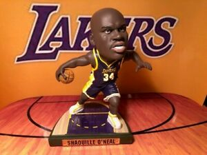 Los Angeles Lakers Shaquille O'Neal Game Breaker figure NEW #489 OF 1034