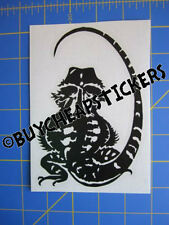 Bearded Dragon Vinyl Decal - Sticker 4x6 - Any Color
