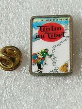 Pin's Pins Tintin et Milou bd Hergé comic strip au tibet