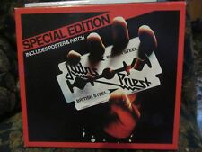 """Judas Priest, """"British Steel"""" (Rare Fan Pack CD with patch & poster)"""