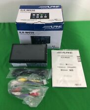 Alpine iLX-W650 7 inch Mechless In-Dash Car Receiver w/ CarPlay and Android Auto