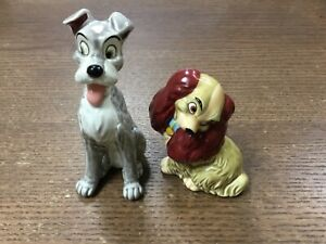 Vintage Disney NE Lady and the Tramp salt and pepper shakers