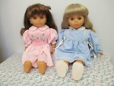 Beautiful Twins! Two All Original, Vinyl & Cloth Dolls by Lissi