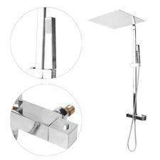 Duschpaneel Thermostat Duscharmatur Regendusche Duschsäule Set Duschsystem UP