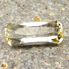 UNTREATED GOLD-YELLOW TOPAZ-GERMANY 6.37Ct CLARITY VVS1-FROM DEPLETED LOCATION!