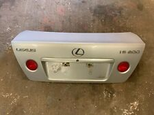 99-05 LEXUS IS200 IS300 BOOTLID SILVER 1C0 BOOT LID TRUNK