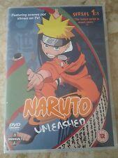 NARUTO Shippuden UNLEASHED DVD Series 1:1 - 3 Disc Set Manga Anime Fast Post!