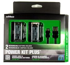 86103 NYKO Xbox One Power Kit Plus,2 controller NiMH batteries &1 charging cable
