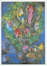 Marc Chagall - Fruchtkorb und Blumenstrauß