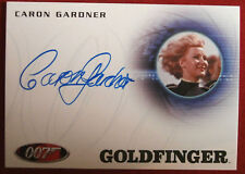 JAMES BOND - Goldfinger - CARON GARDNER as Flying Circus Pilot - Autograph Card