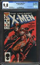Uncanny X-Men #212 CGC 9.8 NM/MT WP Wolverine vs Sabretooth Classic Cover! 1986