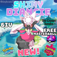 🔥SHINY DIANCIE🔥6IV AVAILABLE NOW🔥Pokemon Sword and Shield🔥