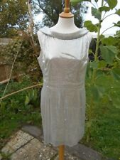 Alexandra Burke Silver Stunning Dress Designed for BBC Children In Need Size 14