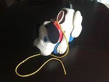 Playskool Hasbro Digger The Dog Puppy Pull Toy Pants Barks Legs Move Works Great