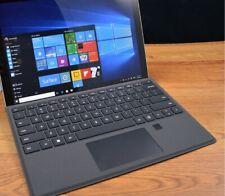 Microsoft windows pro 4 Silver, used, no touch screen
