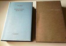 Stendhal PASSEGGIATE ROMANE Garzanti 1983 libri della spiga