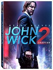 NEW - John Wick Chapter 2 (DVD 2017) Action, Crime, Adventure NOW SHIPPING !