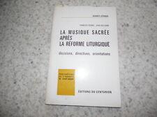 1967.Musique sacrée après réforme liturgique.Picard (envoi)