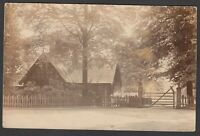 Postcard Northenden postmark Manchester Lancashire lodge gate house sent 1904 RP