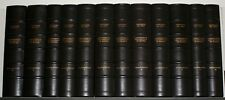 Collection of 12 Volumes of The Manuscripts of the Institute the France