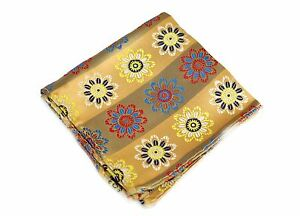 Lord R Colton Masterworks Pocket Square - Miharashi Sun Yellow Silk - $75 New