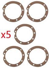 5x GASKET SEAL SOLEX 2200 3300 3800 5000 COVER CAP MOTOR ENGINE VELOSOLEX BIKE