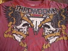 Throwdown by Affliction Taurus T-Shirt. Size XXL MMA UFC